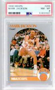 1990-91 Hoops Menendez Brothers In Stands Mark Jackson 205 Psa 8