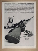 1959 Colt Coltsman Rifle And Coltmaster Scope Vintage Print Ad