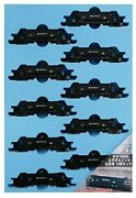 Micro Ace N Gauge Hoki 10000 Pacific Cement 10-car Set For Coal A2079 Model Tra