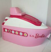 Barbie Dolls Cruise Ship Yacht Party Large Boat Pink 2007 Doll Accessories 20