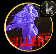 The Killers Mr Nice Guy American Silver Eagle Ounce 24k Gold + Capsule