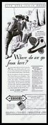 1929 Boy Scouts Scout Scouting Art Hood Rubber High Top Shoes Vintage Print Ad
