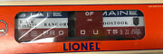 Lionel 6464-275 Bangor And Aroostook State Of Maine Boxcar 6-19285