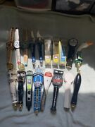 Beer Tap Handle Lot Of 15 - Budweiser Stella Artois Ipas And More