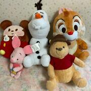 Disney Character Plush Doll Sets For