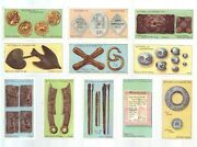 Cigarette Cards. Mitchell Tobacco. Money. Over 100 Years Old.set Of 251913