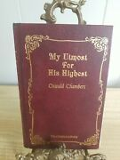 My Utmost For His Highest Classic Daily Devotional [ Oswald Chambers ] Used -