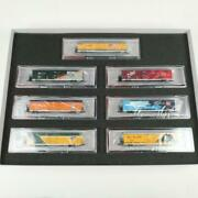 N Scale Enthusiast And Blma Union Pacific Heritage Trinity Reefer 7-car Set Wp Mkt