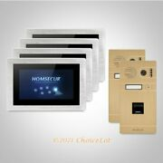 Homsecur 7 Touch Screen Monitor Hands-free Video Door Entry Phone Call System