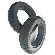Rubber 10 Inch Solid Tire Wheel 10x2.50 Explosion Proof Tire Electric Scooter Uk
