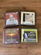 Joe Vitals Audio Book 4 Book Lot At Zero The Solution Expect Miracles And Life's..