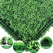 Artificial Plants Mat Privacy Fence Screen Faux Greenery Wall Backdrop Panels