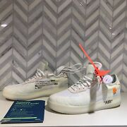 Size 11 - Nike Air Force 1 Low X Off-white The Ten 2017