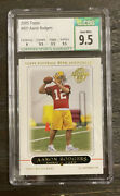 2005 Topps Football Aaron Rodgers Rookie Rc 431 Csg 9.5 Gem Mint