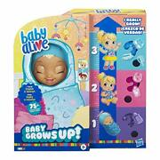 Baby Alive Grows Up Happy Speaking English And Spanish 75+ Sounds 8 Accessories