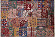 Super Kazak Hand-knotted Wool Rug 5and039 8 X 8and039 3 - Q10081