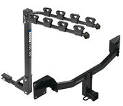 Trailer Tow Hitch For 2021 Buick Envision Tilt Away Fold Down 4 Bike Carrier
