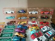 Vintage 1989 Hot Wheels Park Andlsquon Plates Set Of 12 Vhtf And Loose Mixed Brands Lot
