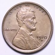 1910-s Lincoln Wheat Cent Penny Choice Bu Free Shipping E725 Vccw
