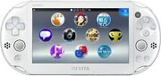 Playstation Vita Wi-fi Model White Pch-2000za12 Discontinued From Japan