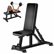 Adjustable Weight Bench,strength Training Benches With Suction Cup Load 700lbs