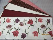Awesome Floral From Golden Collection 5 Yd. Quilt Kit Fabric And Patt.