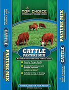 Mountain View Seeds 100372 Cattle Pasture Mix Grass Seed 25-pound