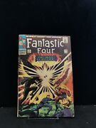 Fantastic Four 53 2nd Appearance Of The Black Panther - Silver Age Comic Book