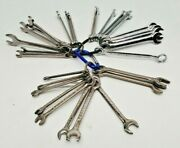 Lot Of 31 Small Craftsman Ignition Wrenches Mini 4-11mm 3/16-7/16 Sae Keychain