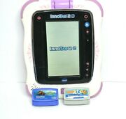 Vtech Innotab 3 Learning Tablet With 2 Games - Tested