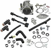 S And S Cycle 58mm Single Bore Efi Throttle Body/fuel Rail Kit 106-4407