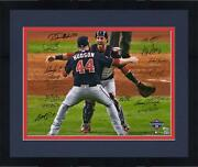 Frmd Nationals 2019 Ws Champs Signed 16 X 20 Last Out Photo With 16 Sigs - Le 5