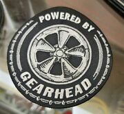 Gearhead Powered Hat Jacket Shirt Patch Vtg Drag Racing Hot Rod Scta Muscle Car
