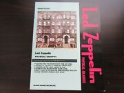 Led Zeppelin Physical Graffiti Japan Band Score Song Book Guitar Tab Jimmy Page