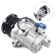 A/c Compressor And Clutch Kit For 2001-2009 Toyota 4runner Sequoia Lexus Gx470 Usa