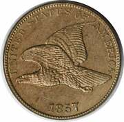 1857 Flying Eagle Cent Choice Bu Uncertified 1121