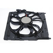 For Bmw E70 X5 2007-2010 Electric Cooling Fan Assembly 17427533558 Radiator