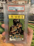 Psa Ticket Football 1968 Super Bowl Ii 2 Green Bay Packers Oakland Raiders Auth.