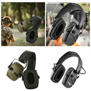 Electronic Foldable Ear Muffs Ears Protective Headset Hearing Protection