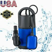 1hp Stainless Steel Submersible Sump Pump Clean/dirty Water Pump For Pool Drain