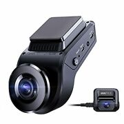 S1 4k Hidden Dash Cam Built In Gps Speed, Dual 1080p Front And Rear Car Camera