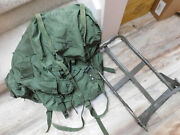Us Army Alice Field Pack W/ Frame Size Large No Straps And Waist Belt