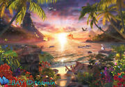 Hawaii Sunset Beach Jigsaw 18000 Piece Puzzle Collection Rare New Sealed Stock