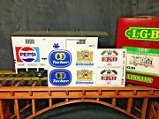 Lgb 4031 Pepsi Car G Scale With Extra Decals Original Box G Scale