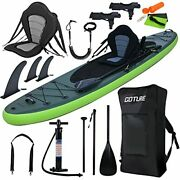 Goture 11and039346 Double Layer Inflatable Stand Up Paddle Board6in Thick Fishing