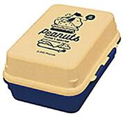 Kamio Japan Snoopy Lunchbox Gel-cool Deli Ranch 1st Stage Box Delivery Japan