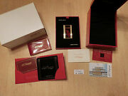 S.t. Dupont Paris Limited Edition 1998 Tiger Line 2 New Only 999 Items Bnib