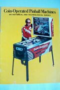 Vintage 1976 Bally Booklet Coin-operated Pinball Machines By Herb Jones