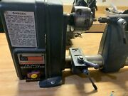 12 Craftsman Wood Lathe W/ Tools And Accessories