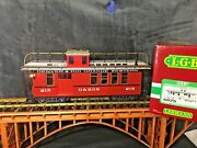Lgb 4075 Denver And Rip Grande Western Lighted Caboose Powered By Metal Wheel